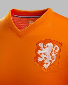 badge met leeuw shirt WK 2014